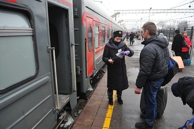 Поезд, идущий из