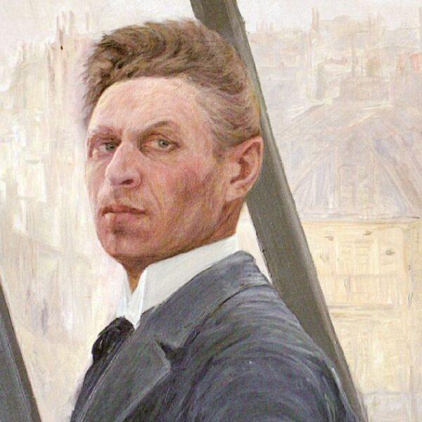 Первая выставка Константина Кузнецова в России
