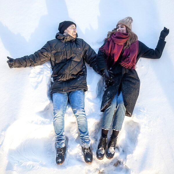 День Влюбленных в Парке Горького