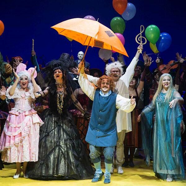 Новогоднее представление в Геликон-опере