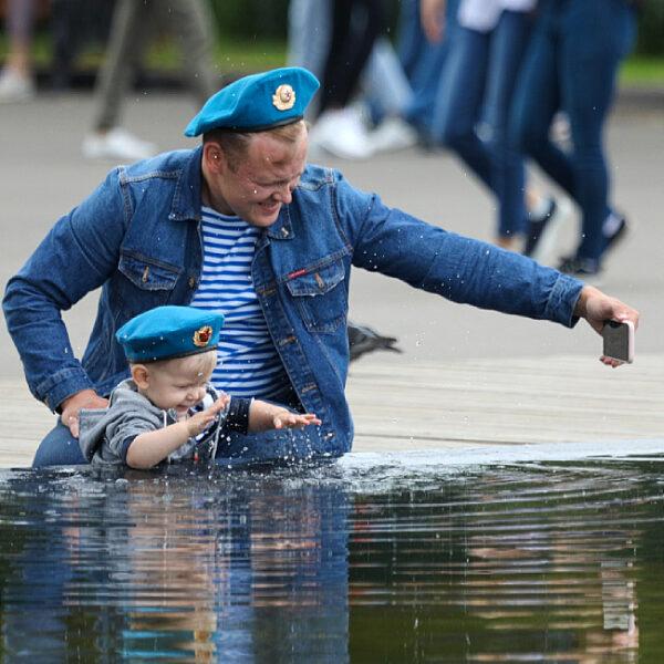 День ВДВ в Парке Горького