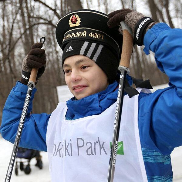 23 февраля в парке Сокольники