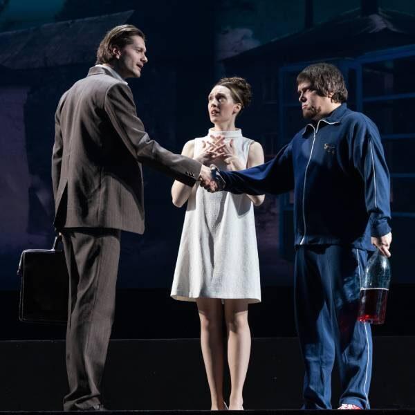 Спектакль «Заповедник» в Театре Пушкина