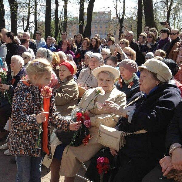 День Победы в Михайловском саду