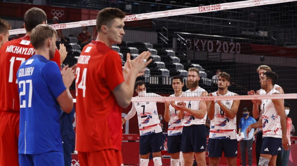 Волейбол - Россия - Олимпиада - мужчины