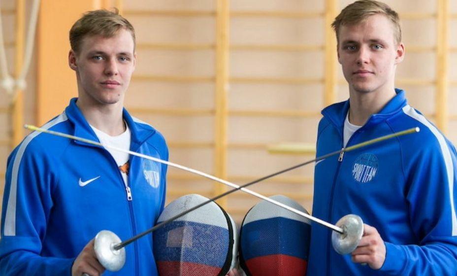 Братья-близнецы-рапиристы Кирилл и Антон Бородачевы показали себя на Олимпиаде в личном первенстве. Фото: КП-Самара