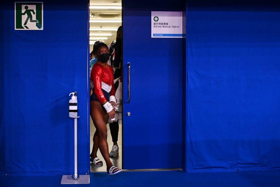 Главная звезда американской сборной по гимнастики Симона Байлз не выдержала напряжения Олимпиады-2020. Фото: Reuters