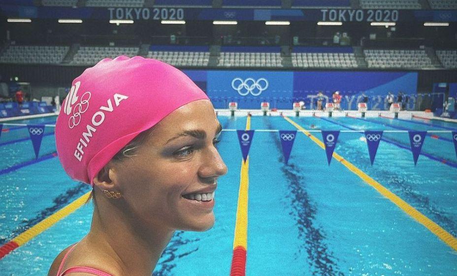 Юлия Ефимова вышла в финал 100 метров брассом на Играх-2020, но не смогла занять призовое место. Фото: Инстаграм Юлии Ефимовой