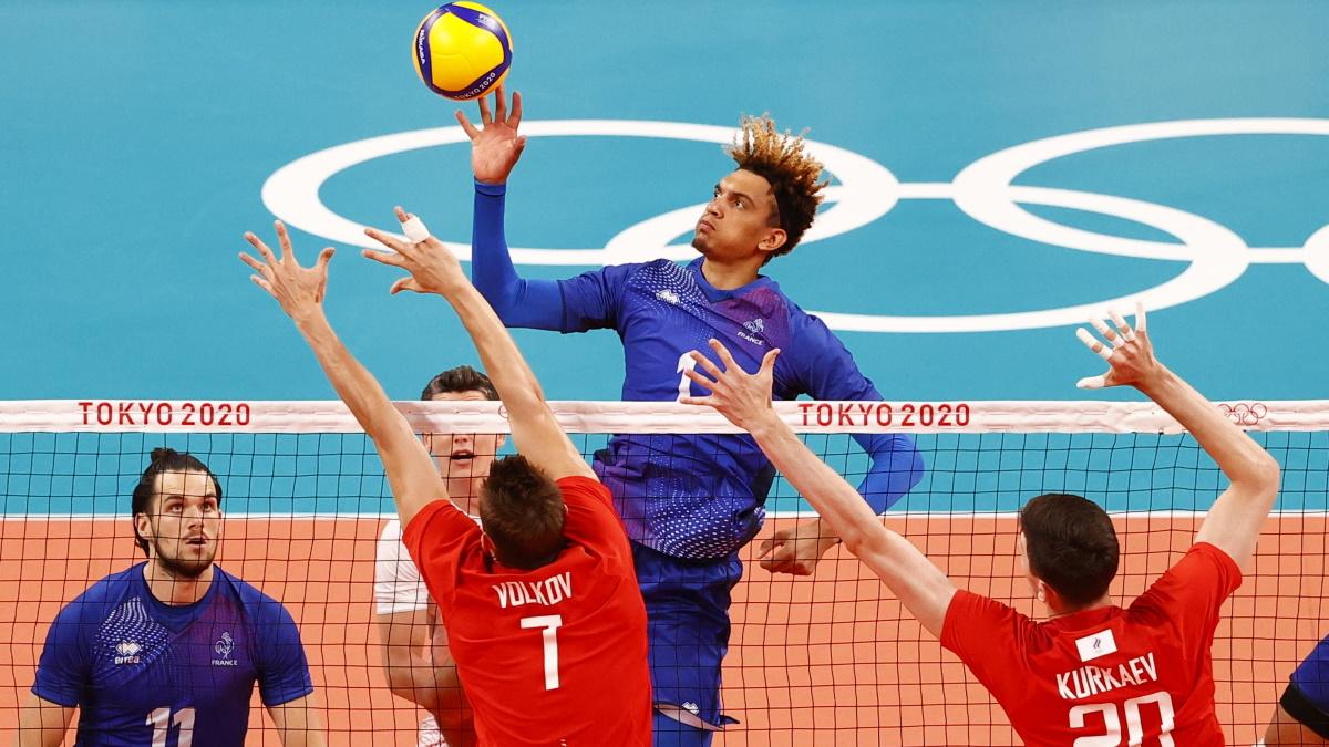 Французская сборная взяла уверенно две первых партии финала. Фото: REUTERS