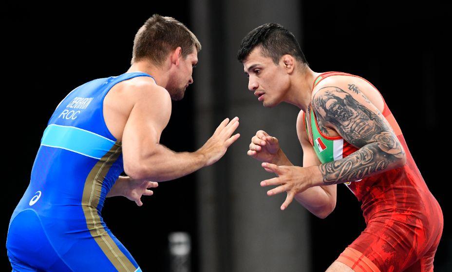 Борец греко-римского стиля Александр Чехиркин уступил в четвертьфинале. Фото: Reuters