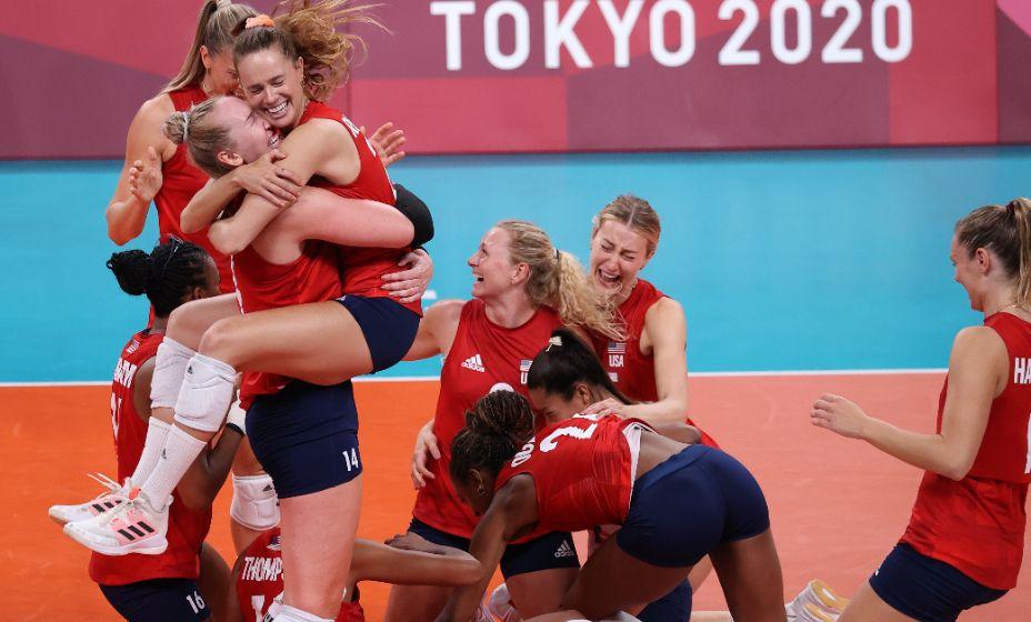 Женская сборная США по волейболу . Фото: Reuters