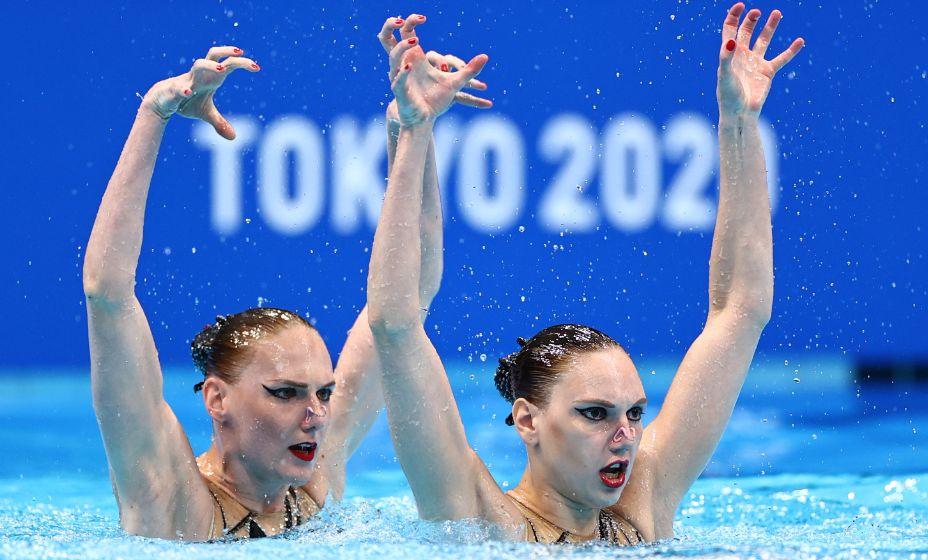 В Токио Светлана Ромашина взяла два золота - первое в дуэте с Колесниченко. Фото: Reuters