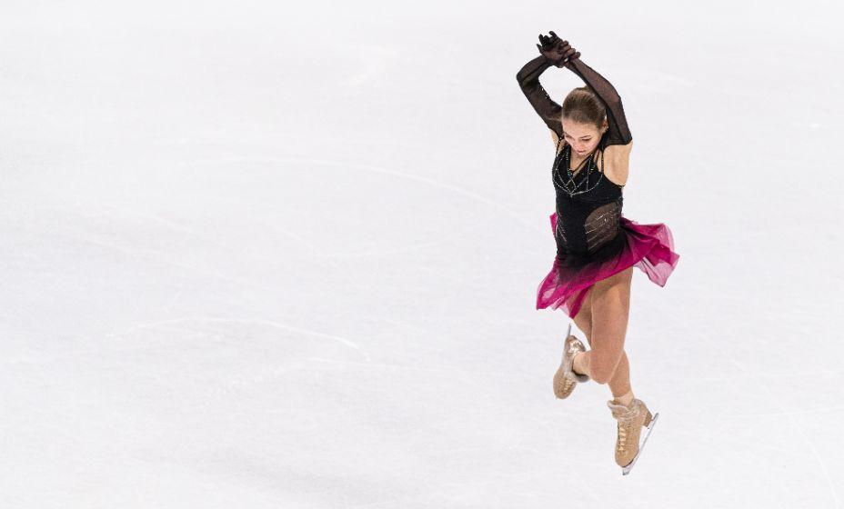 Прыжки всегда были самой сильной стороной Александры Трусовой. Фото: ТАСС