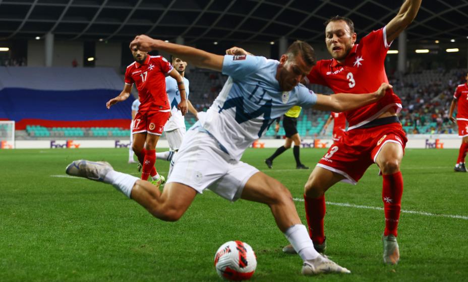 Словенцы обыграли Мальту только благодаря пенальти. Фото: Reuters
